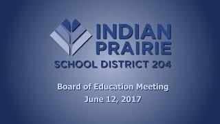 School Board Meeting: 06/12/17