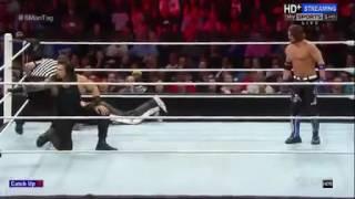 Roman Reings vs AJ Styles gran pelea