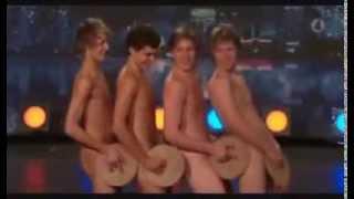 Çıplak komedi dans show (Yeteneksizsiniz İsveç) | LilTV