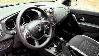 Interior New Dacia Sandero Stepway 2017   MediaNav Evolution