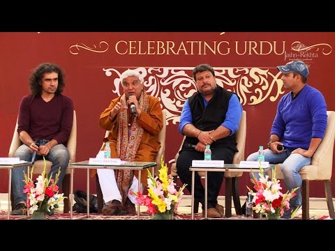 Xxx Mp4 Urdu In Films I Javed Akhtar I Imtiaz Ali I Tigmanshu Dhulia I Javed Siddiqui I Jashn E Rekhta 2016 3gp Sex