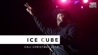 Ice Cube Performs 'It Was A Good Day' LIVE At Cali Christmas 2016