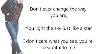 Olly Murs - Beautiful to me - Lyrics