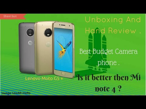 Unboxing MOTO G5 Plus | First Hand review | Is it good ?