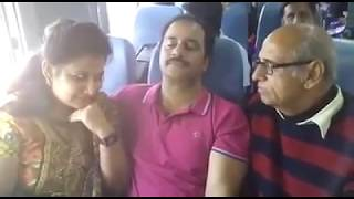 Uncle and Aunty making love in aeroplane