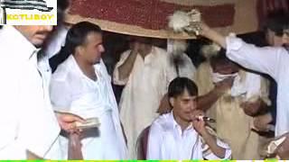 Raja Hafeez Babar at his wedding - Mijaz & Sajna de liy.