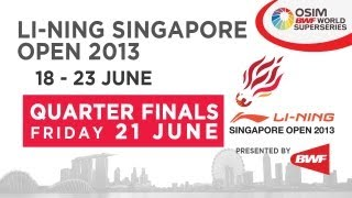 QF - XD - T.Ahamd/L.Natsir vs C.Adcock/G.White - 2013 Li-Ning Singapore Open