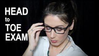 💊ASMR Medical Exam Role Play👓: Relaxing, Thorough Physical with Nurse Green (Binaural; 3Dio)