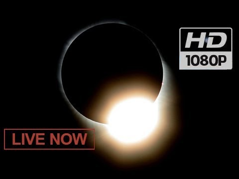 ECLIPSE LIVE NOW!😎🌒  Total Solar Eclipse (AUGUST 21st 2017) NASA TV #Great American Eclipse