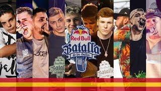 Los 16 CLASIFICADOS a la Red Bull Batalla de los Gallos ESPAÑA 2018