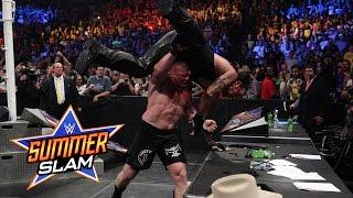 WWE Network: The Undertaker vs. Brock Lesnar: SummerSlam 2015