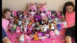 HUGE TY Beanie Boos Collection! What's their favourite???