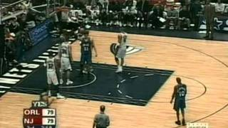 Tracy McGrady triple-double[46pts-10reb-13ast] vs. Nets (02.23.2003)