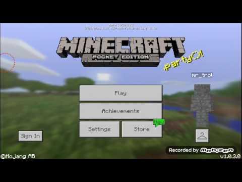 (Minecraft PE) cách vào server ai là kẻ giết người