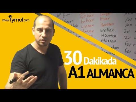 ALMANCA 30 DAKİKADA ALMANCA DÜNYANIN EN İYİ ALMANCA ÖĞRETMENİ