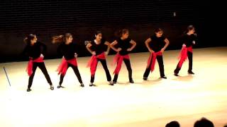 Ma Yhemmak (don't worry) - Arab Dance - Lovett Middle School (November 15, 2009)