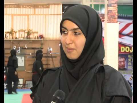 Ninja Girls Iran