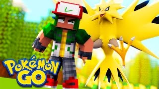 Pokemon Go in Minecraft - Pokemon Vanilla World #4