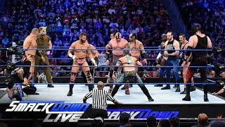 Battle Royal – Six-Pack Challenge Qualifikationsmatch: SmackDown Live, 26. Juli 2016