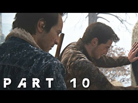 Uncharted 4 A Thief's End Walkthrough Gameplay Part 10 - The Grave (PS4)