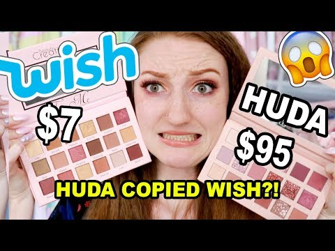 Xxx Mp4 WISH MAKEUP Vs HUDA BEAUTY IS THE HUDA NUDE PALETTE A COPY OF BEAUTY CREATIONS FROM WISH 3gp Sex