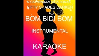 Nick Jonas & Nicki Minaj -Bom Bidi Bom- Instrumental (no lyrics, only music)