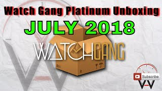 Watch Gang Platinum Unboxing and Review July 2018