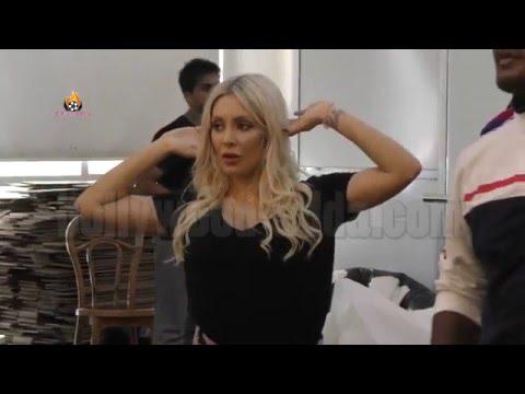 Bold Model Ashley Emma & Pushkar - Ghaati Trans New Song Reharsal - T-Series