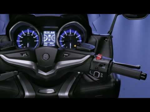 NEW TMAX 2017 – TFT display and switch control overview