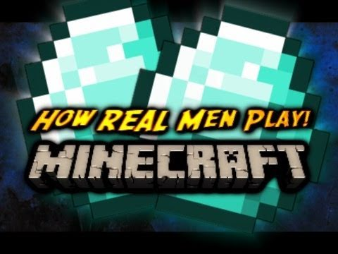 Xxx Mp4 Minecraft How REAL Men Find DIAMONDS Old World Record 3gp Sex