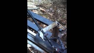Auto-Return/Auto-Cycle Log/Wood Splitter