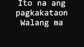 Salamat by Yeng Constantino w/ lyrics