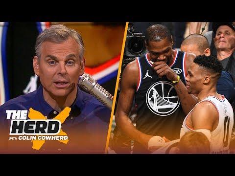 Xxx Mp4 Colin Cowherd Rips Pelicans Handling Of AD Talks Westbrook Durant Split In OKC NBA THE HERD 3gp Sex