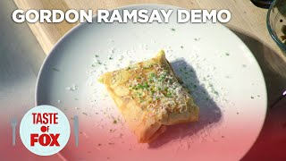Gordon Ramsay Demonstrates How To Make The Perfect Savory Crepe | TASTE OF FOX