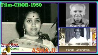 ASHA.Film-CHOR-1950-Barbad Hue Par Aah Na Ki-[ Better Audio Sound ]