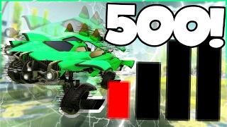 ROCKET LEAGUE + 500 PING = 💀