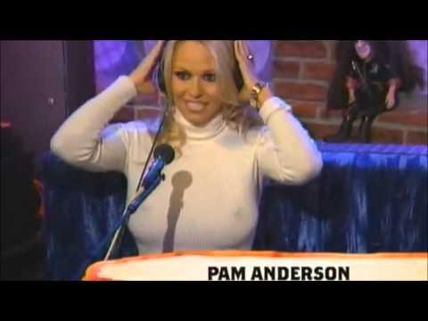 Pamela Anderson - big boobs - hard nipples