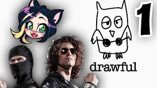 ►Drawful►HOT GARBAGE ► With Ninja Sex Party! ► PART 1 - Kitty Kat Gaming