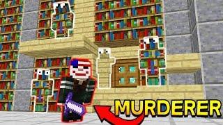 MINECRAFT MURDER MYSTERY CAMO TROLLING!