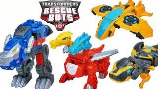 Transformers Rescue Bots Heatwave Fire Bot Dragon Dino Optimus Bumblebee Jet Mode Bee Wave 13