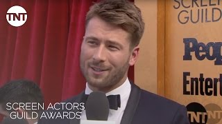 Glen Powell: Red Carpet Interview | 23rd Annual SAG Awards | TNT