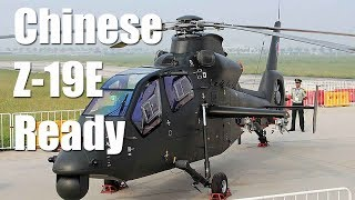 Chinese Z-19E Attack Helicopter Ready For Batch Production
