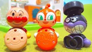 アンパンマン アニメおもちゃ ジャムおじさんのパン工場 誰のパンかな? パンこうじょうハウス 人気キャラクター大集合 Anpanman Animation Toy