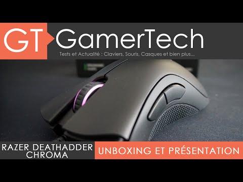 Razer DeathAdder Chroma - Unboxing et Présentation FR