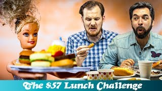 The $57 Lunch Challenge!