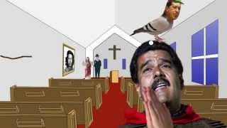Maduro hablando con el pajarito Chavez - Comico (Maduro talks to the spirit bird of Chavez)