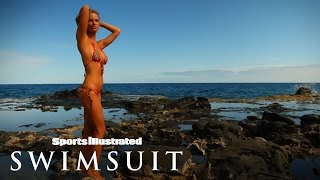 Jessica Perez Had To Hold On Tight For Her Shoot | Sports Illustrated Swimsuit