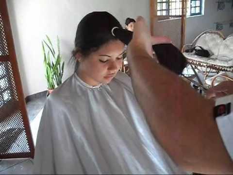 Corte para cabelos longos.