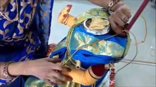 Gowramma Saree draping
