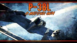 War Thunder RB Gameplay - P-38L - A Hidden Gem!